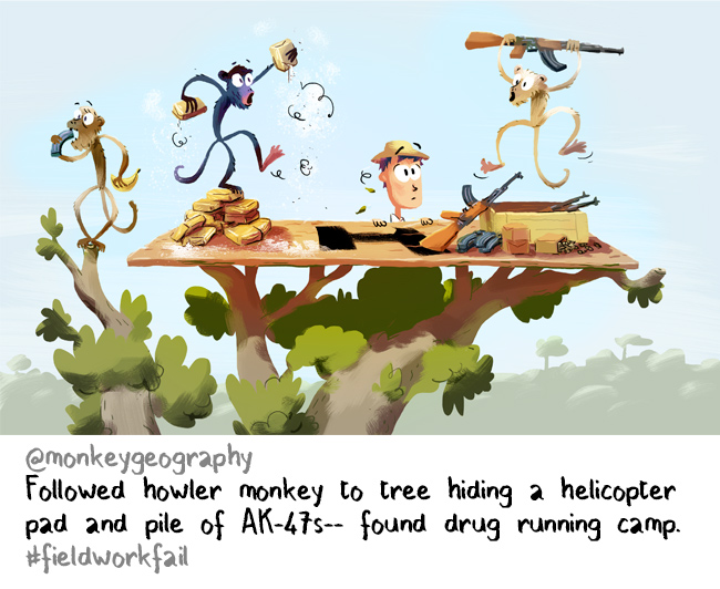 monkey drug connection