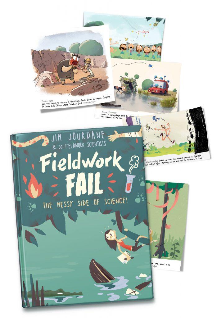 mockup fieldworkfail book